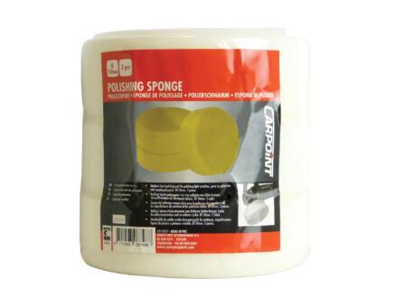 Carpoint éponge de polissage moyen 150mm blanc 3 pièces