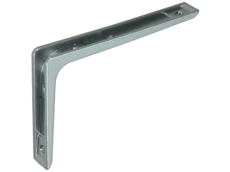 Mack équerre d'étagère zamac 100x150 mm gris clair