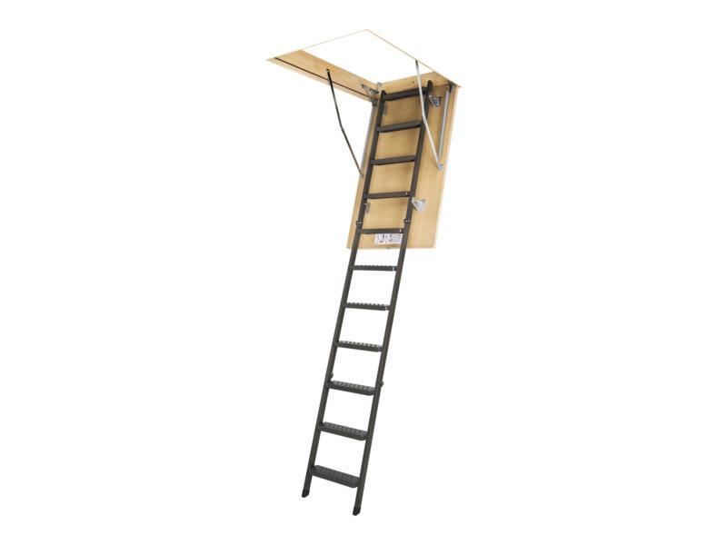 Fakro escalier escamotable en 3 parties 120x70 cm métal