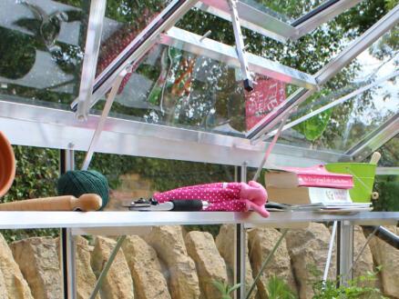 Eden étagère de culture pour serre Bourton 2010 gris