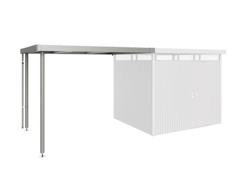 Biohort extension pour abri Highline H3 métal gris quartz métallique