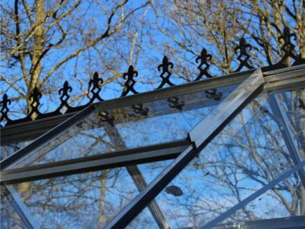 Royal Well faîte victorienne serre Bourton 1610 noir