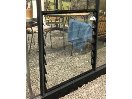 Juliana fenêtre à louvres 70x86 cm 8 lamelles