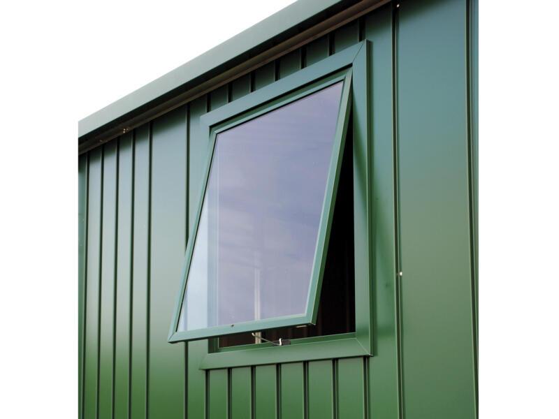 Biohort fenêtre abri de jardin Europa vert foncé