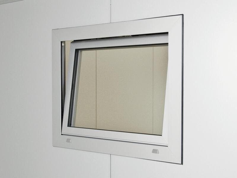 Biohort fenêtre oscillo-battante droite abri de jardin CasaNova gris foncé métallique
