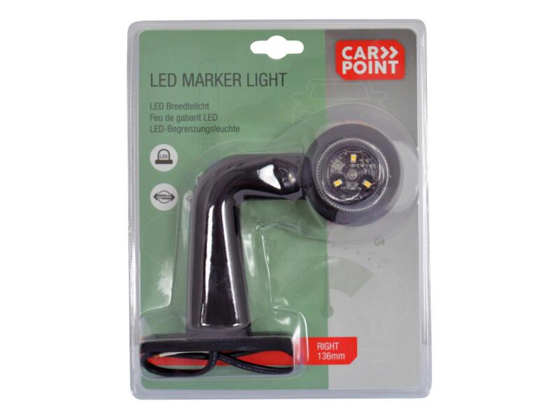 Carpoint feu de gabarit LED droit 136mm