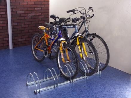 Mottez fietsenrek voor 5 fietsen