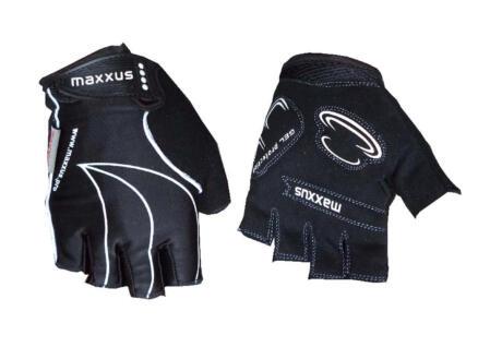 Maxxus fietshandschoenen L gel zwart
