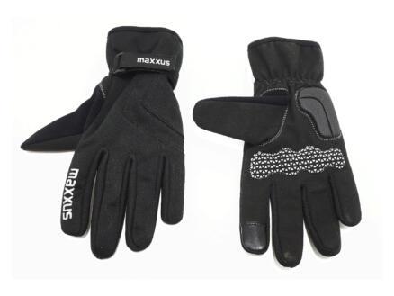 Maxxus fietshandschoenen L zwart windbrekend