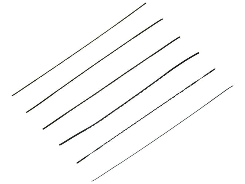 Bahco figuurzaagbladen assortiment 6x4P