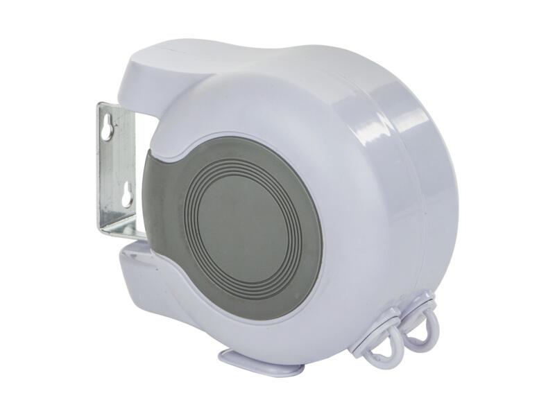Casibel fil à linge extensible 2x13 m blanc