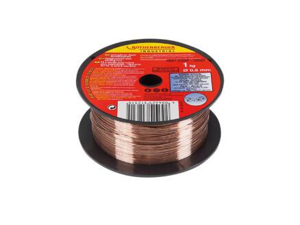 Rothenberger fil de soudure universel MIG/MAG 0,6mm 1kg