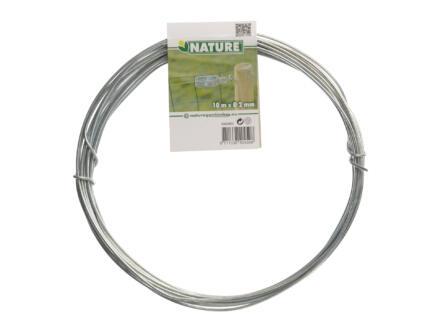 Nature fil de tension 10m 2mm zingué