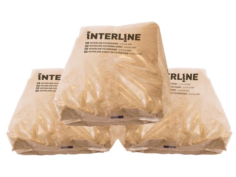 Interline filterzand 0,4/0,8 mm 25kg