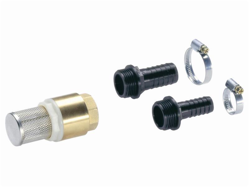 Gardena filtre anti-sable 3000 l/h + filtre d'aspiration avec clapet de retour 3/4