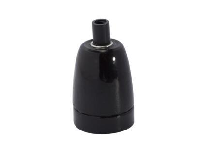 Chacon fitting E27 keramieken zwart