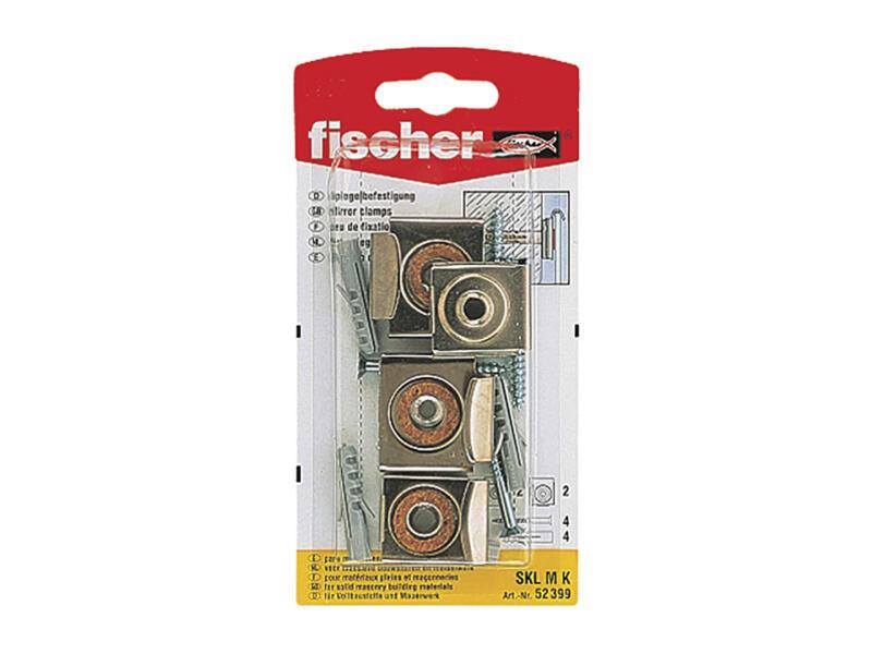 Fischer fixation miroir 4 pièces