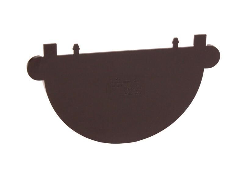 Scala fond universel pour gouttière G125 PVC brun