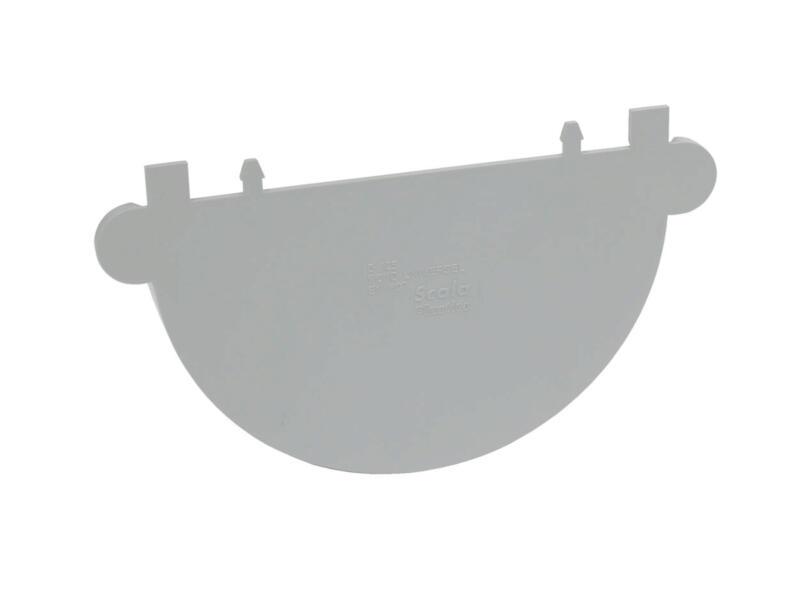 Scala fond universel pour gouttière G125 PVC gris clair
