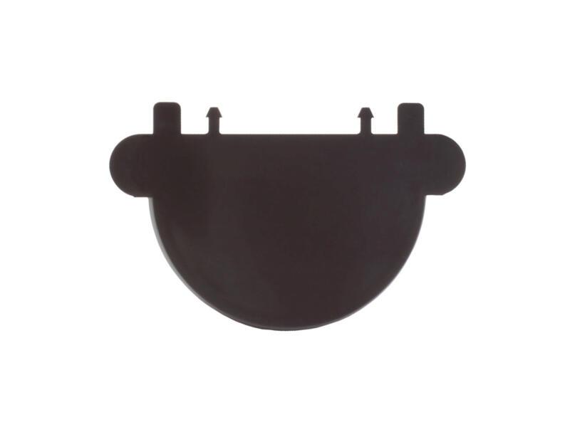 Scala fond universel pour gouttière G80 PVC brun