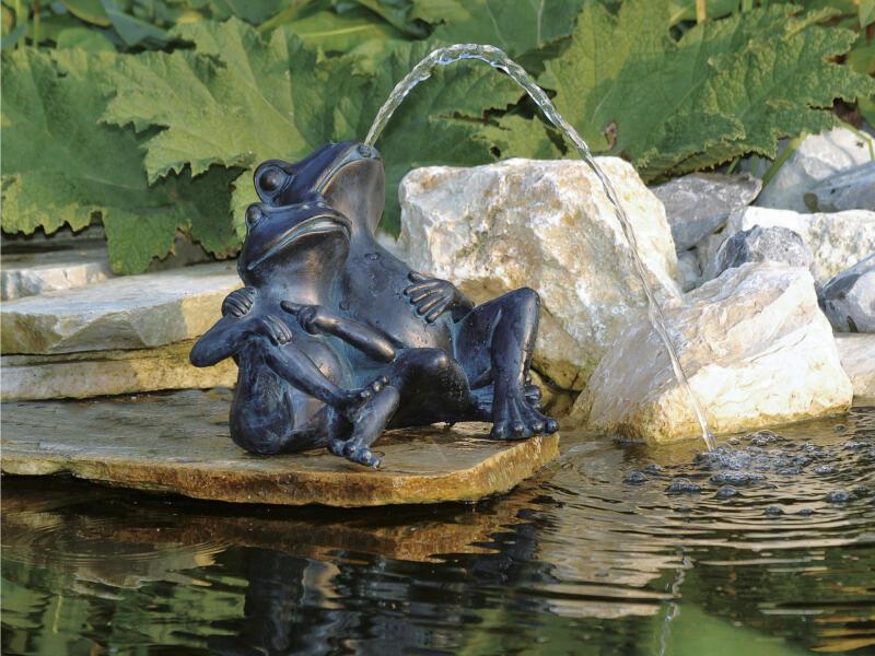 Ubbink fontaine décorative grenouille 22cm