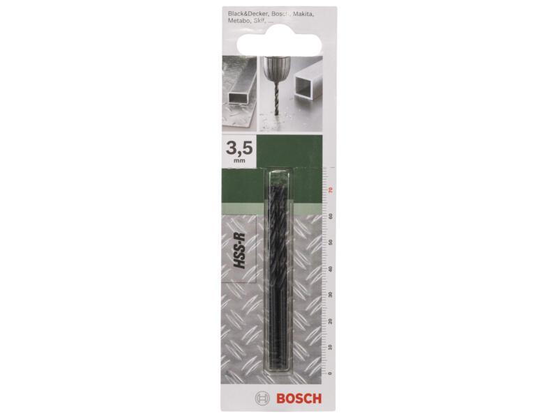 Bosch foret à métaux HSS-R 3,5mm