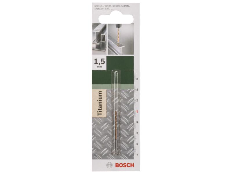 Bosch foret à métaux HSS-TiN 1,5mm