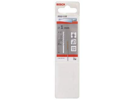 Bosch Professional foret à métaux HSS-TiN 1mm
