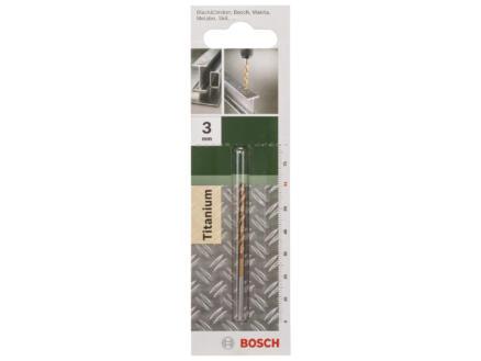 Bosch foret à métaux HSS-TiN 3mm