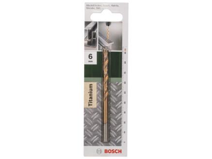 Bosch foret à métaux HSS-TiN 6mm