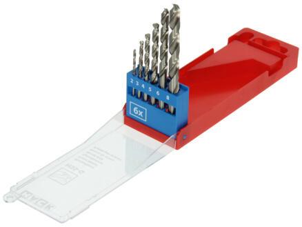 Mack forets à métaux HSS-G 2-8 mm set de 6
