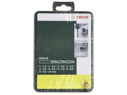 Bosch forets à métaux HSS-R 1-10 mm set de 19