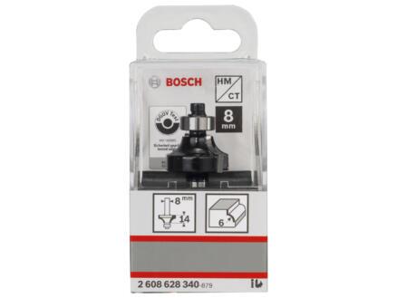 Bosch Professional fraise à arrondir carbure 14x24,7 mm