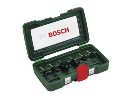 Bosch frezenset HM 6-delig