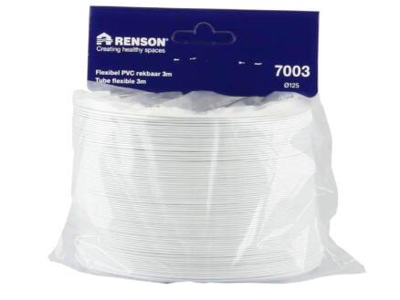 Renson gaine de ventilation flexible type 7003 125mm blanc