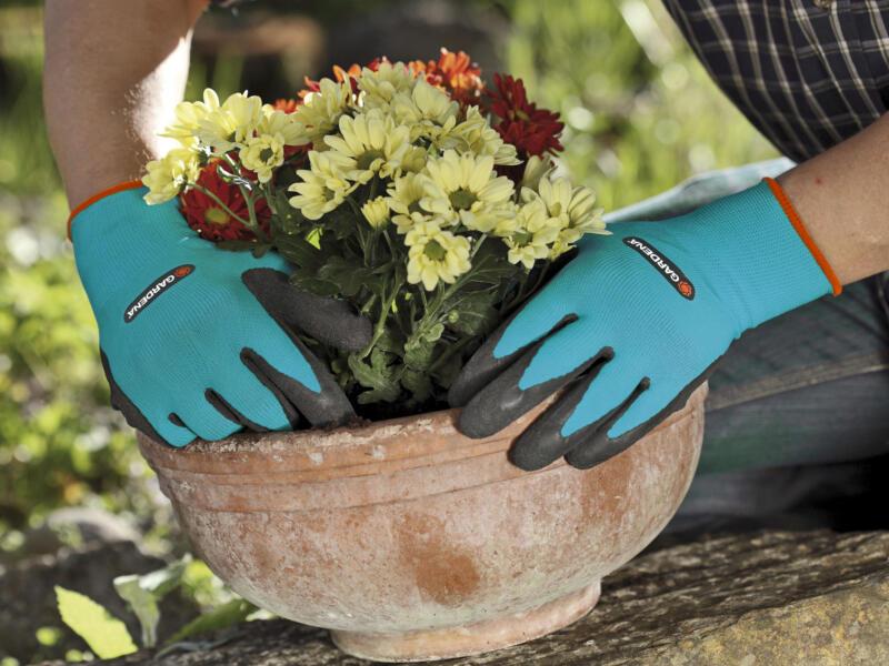 Gardena gants de jardin plantations 9/L latex