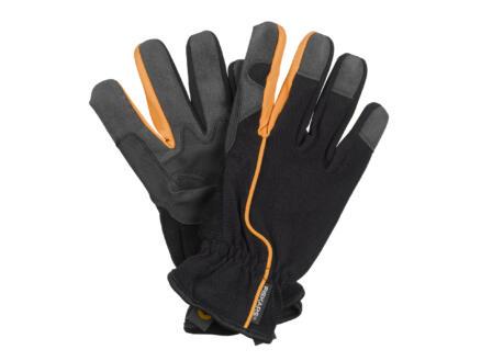 Fiskars gants de jardinage 10 coton noir