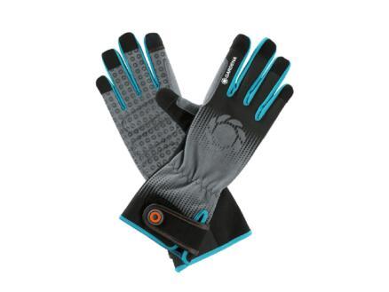 Gardena gants de jardinage L polyester gris 3 paires