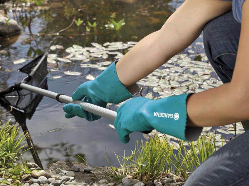 Gardena gants de nettoyage taille 9/L latex vert