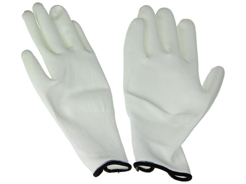 Sam gants de protection peinture XL PU blanc