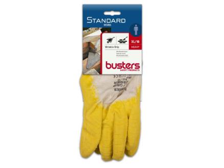 Busters gants de travail XL latex jaune