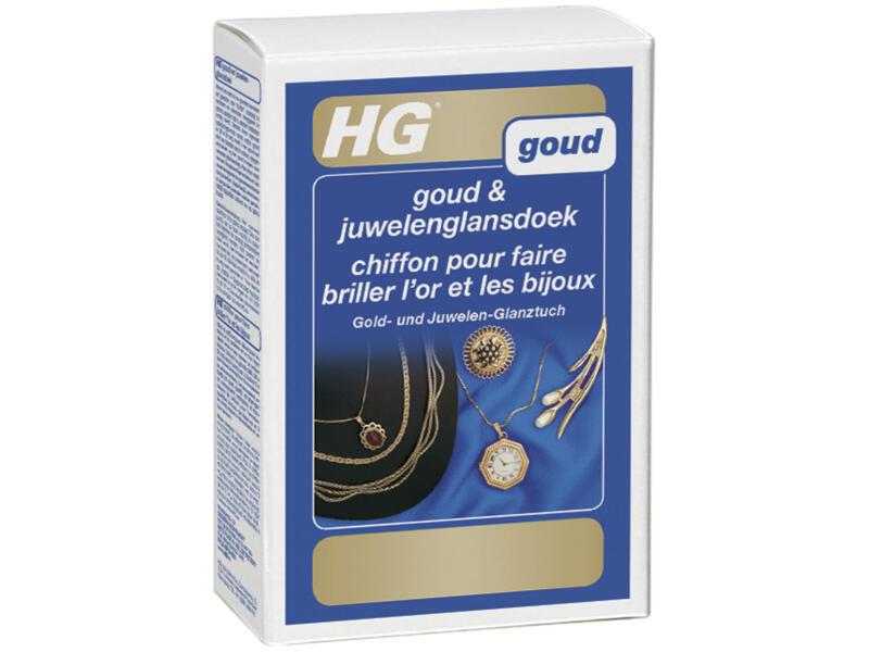 HG glansdoek goud en juwelen