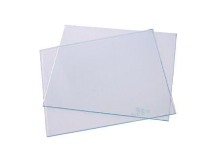 Toolland glas voor lashelm transparant