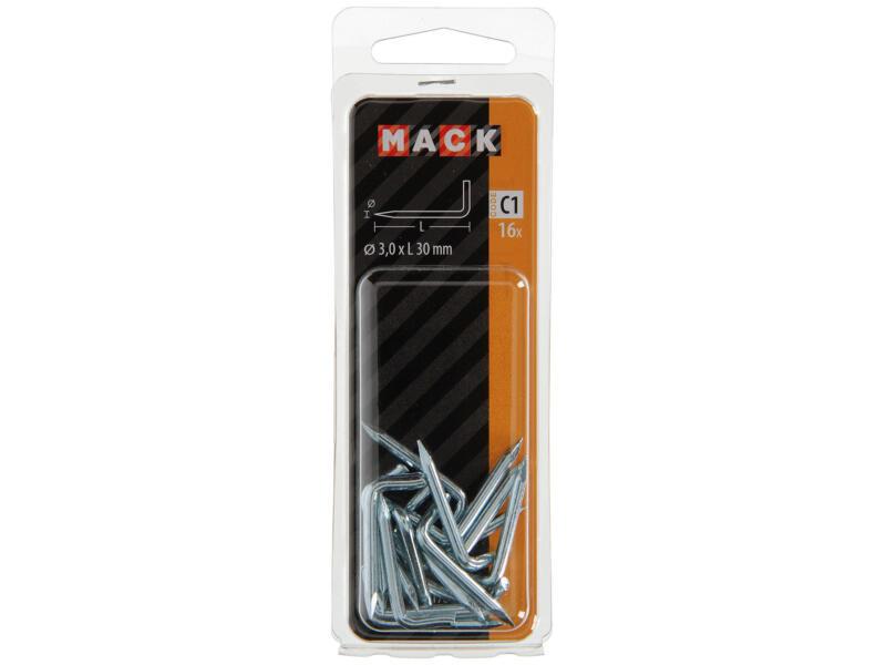 Mack gonds à pointe 3x30 mm 16 pièces