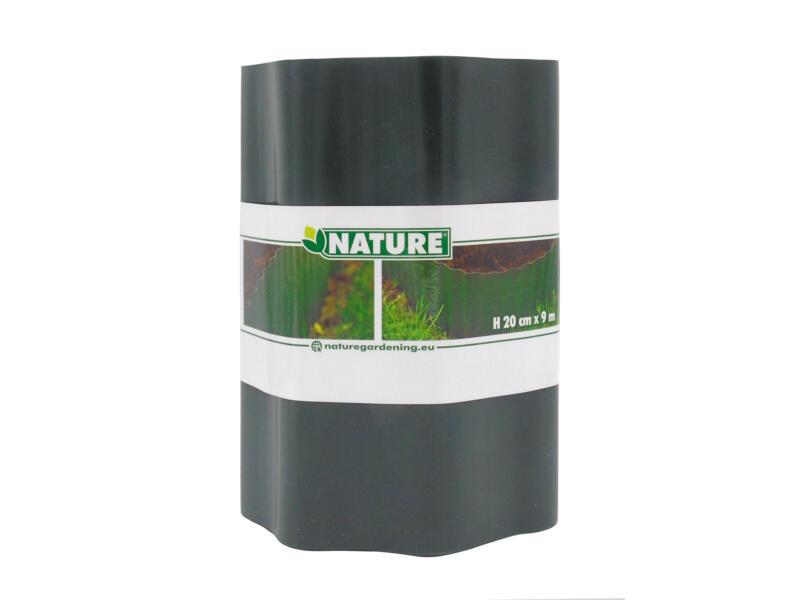 Nature grasrand 20cm 9m groen