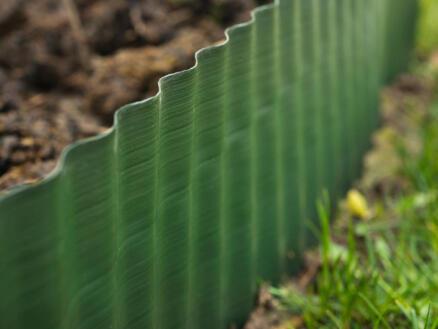 Nature grasrand 25cm 9m groen