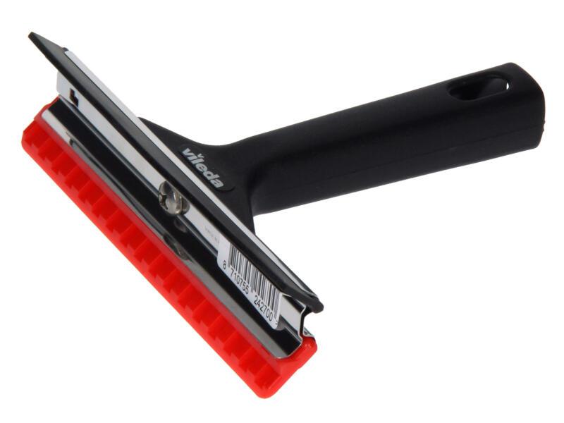 Vileda grattoir-raclette pare brise noir/rouge