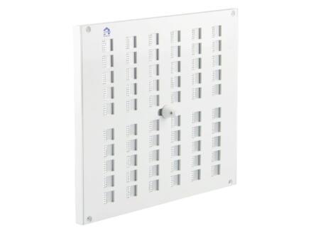 Renson grille 200x240 mm aluminium blanc
