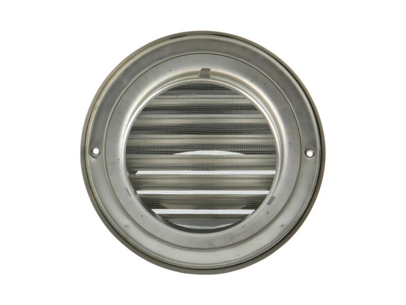 Renson grille bombée 150mm inox
