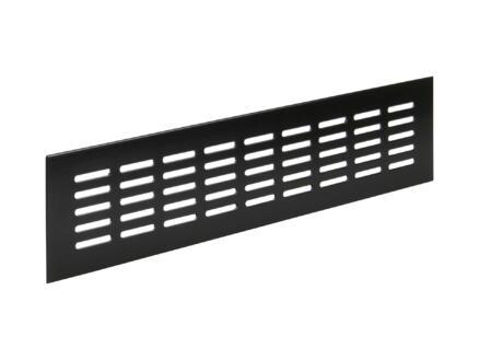 Renson grille d'aération 400x80 mm aluminium brun noir